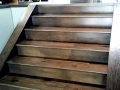 Prefinished Handscraped Engineered Hickory Stairs
