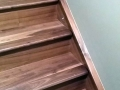 Prefinised Natural Walnut Staircase