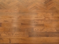 Red Oak Herringbone and Border