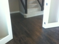 Refinished Birch Floor with custom stain.