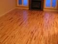 Refinished Rustic Maple Hardwood Floor