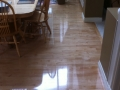 Refinished Maple Floor, High Gloss Finish