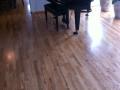 Refinished Red Oak Hardwood Floor