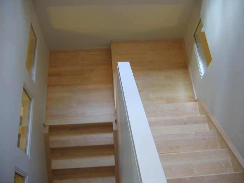 Hardwood Stairs Gallery | Summit Custom Hardwood Edmonton & Area
