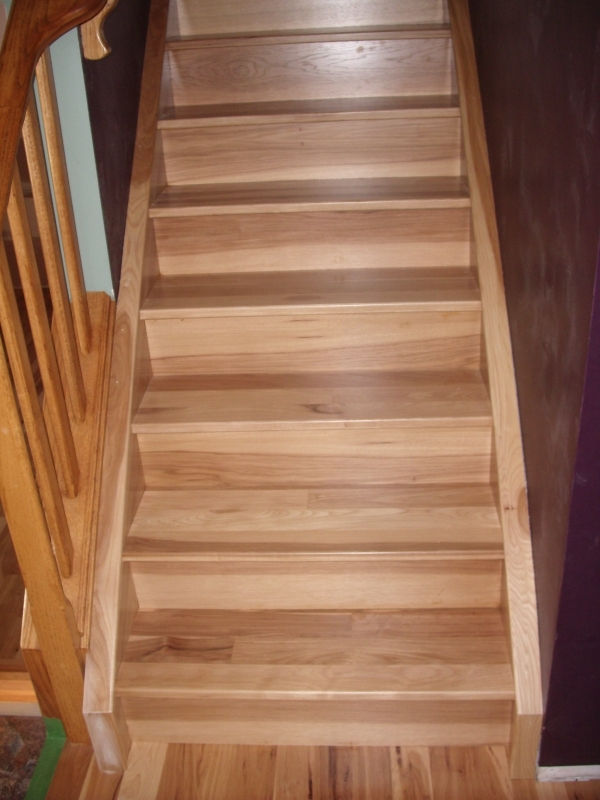 Hardwood Stairs Gallery Summit Custom Hardwood Edmonton