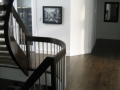 Site Finished, Custom Stained White Oak, and Stairs