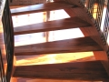 Tigerwood Stair and Floor, Site Finished