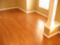 Site Finished  Red Oak, Custom Stain