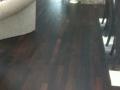 Site Finished Wenge Hardwood Floor with Oil Finish