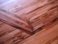 Site Finished Tigerwood Floor and Stairs.