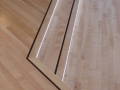 Site Finished Maple Floor with Wenge Border