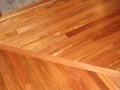 Site Finished Jatoba Floor