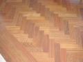 Jatoba Herringbone Hardwood Floor