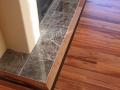 Site Finished Tigerwood floor, Wenge highlight