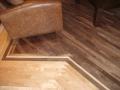 Bird's Eye Maple Floor with Walnut Insert