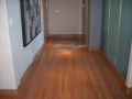 Site Finished Quartersawn Stained Red Oak, Custom Stain