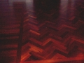 Wenge Floor, Herringbone Insert