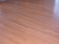 Site Finished Quartersawn Red Oak Floor, Custom Stain