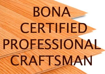 BONA Certified Professional Craftsmen