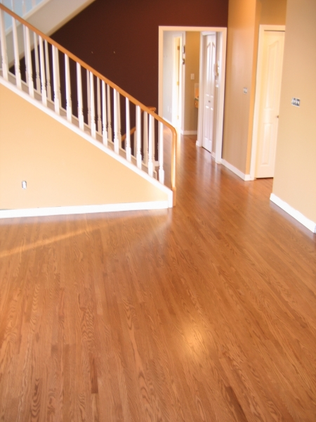 Site Finished Red Oak