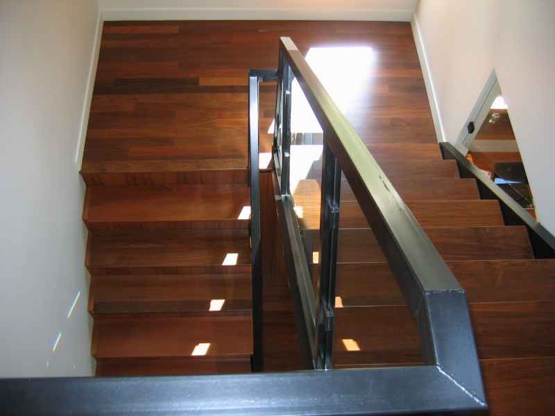 Custom Ipe Stair Treads
