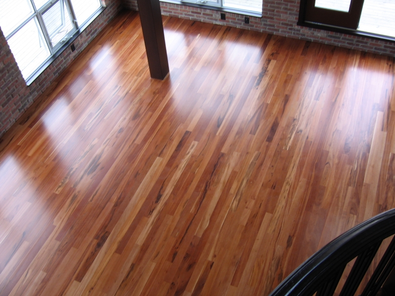 Site Finished Hardwood Floors
